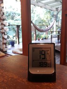 Seb indoor outdoor thermometer