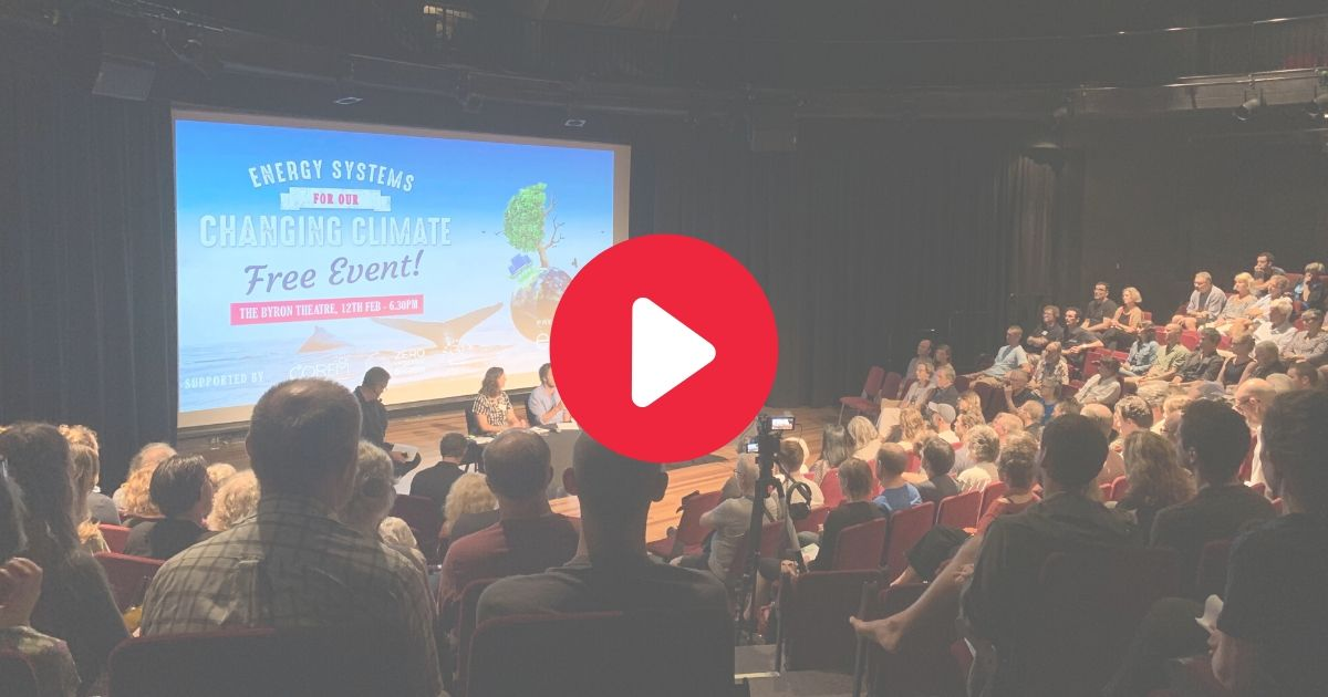 Video recording: Energy Systems for our Changing Climate event