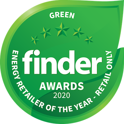 Finder Award Green Enery Retailer of the year