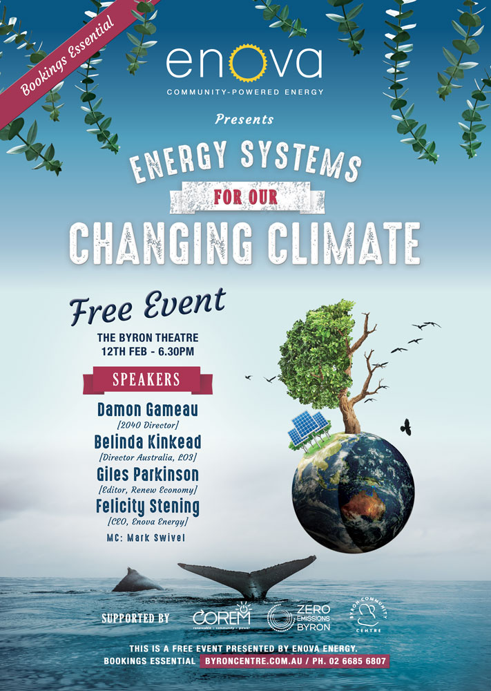 Community Event: Energy Systems for our Changing Climate