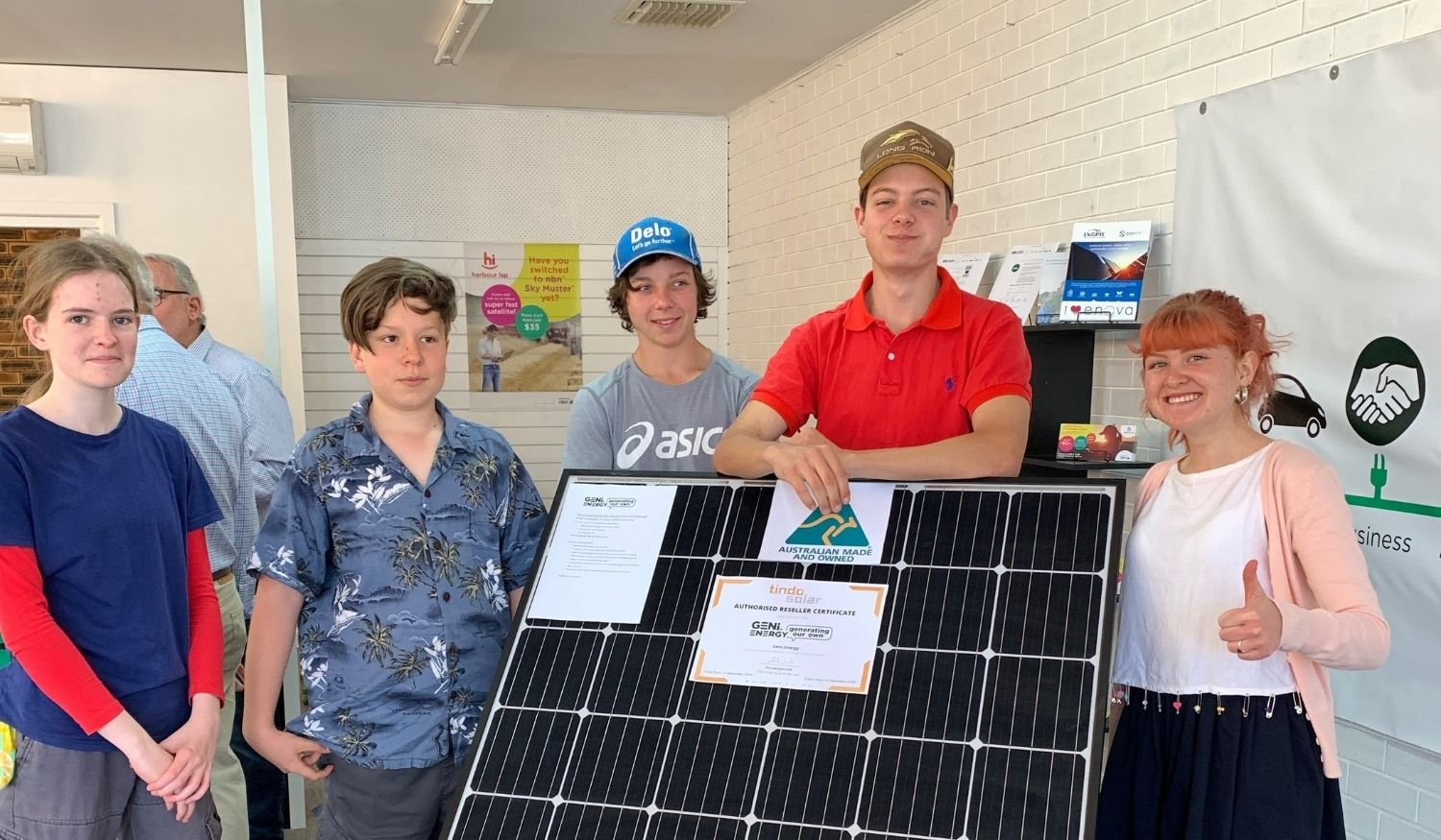 Enova proudly partnering with Narrabri not-for-profit Geni.Energy